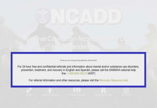 What Happened to NCADD?